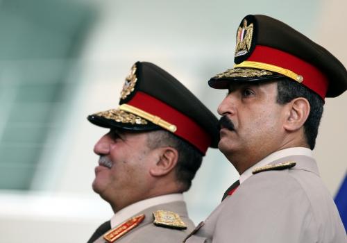 Ägyptische Generäle Sabry Elsayed und Mohammed Hassan, über dts Nachrichtenagentur