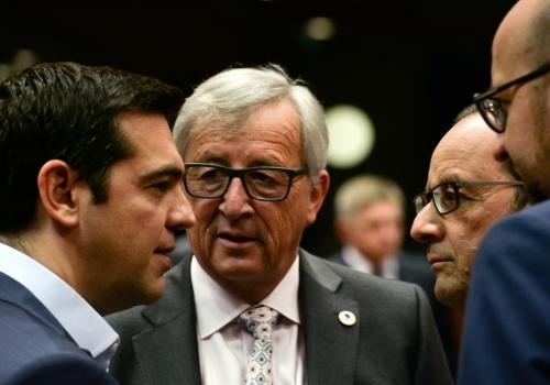 EU-Sondergipfel am 12.07.2015, Etienne Ansotte/EU,  Text: über dts Nachrichtenagentur