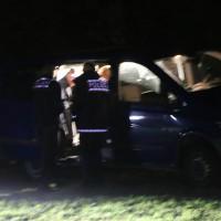 Egelsee - Mehrere Schwerverletzte Bulgaren und der Autobahnbrücke A7