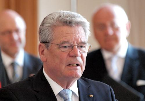 Joachim Gauck, über dts Nachrichtenagentur