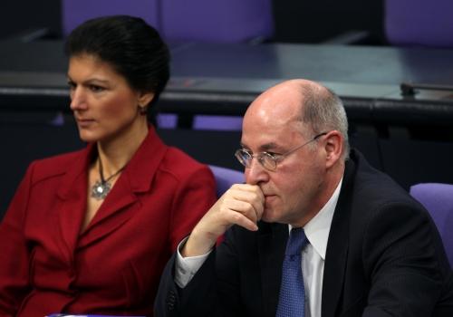 Gregor Gysi und Sahra Wagenknecht, über dts Nachrichtenagentur