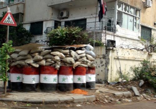 Checkpoint in Syrien, über dts Nachrichtenagentur