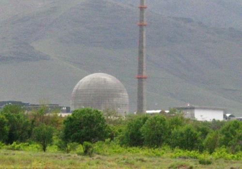 Schwerwasserreaktor im iranischen Arak, über dts Nachrichtenagentur
