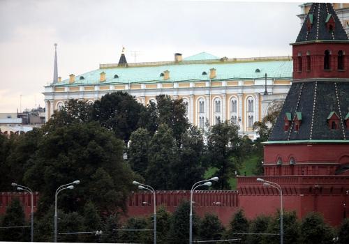 Mauer des Kreml in Moskau, über dts Nachrichtenagentur
