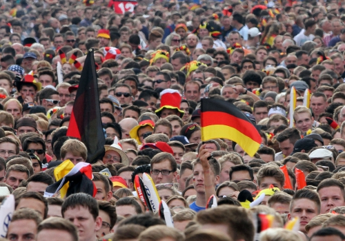 Fußballfans der Deutschen Fußball-Nationalmannschaft, über dts Nachrichtenagentur