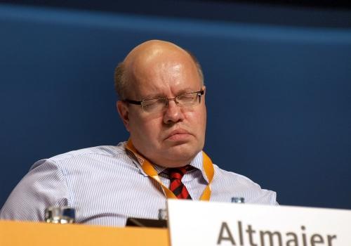 Peter Altmaier mit geschlossenen Augen, über dts Nachrichtenagentur