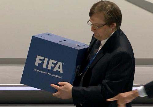Stimmen-Auszählung auf Fifa-Kongress, über dts Nachrichtenagentur