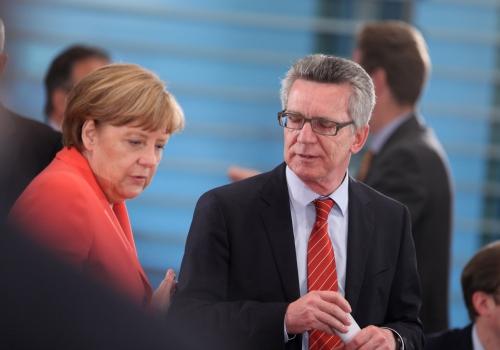 Angela Merkel und Thomas de Maiziere, über dts Nachrichtenagentur
