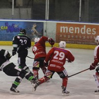 06-11-2015_Memmingen_Eishockey_Randale_Indians_ECDC_Hoechstadt_Polizei_Fuchs_new-facts-eu0002