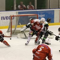 06-11-2015_Memmingen_Eishockey_Randale_Indians_ECDC_Hoechstadt_Polizei_Fuchs_new-facts-eu0038
