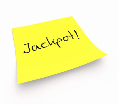 Notizzettel - Jackpot!