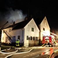 Burtenbach Brand landwirtschftl