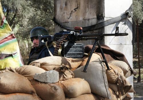Syrische Sicherheitskräfte, über dts Nachrichtenagentur