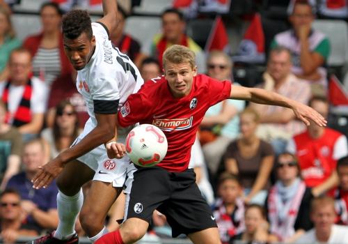 Bundesliga-Partie zwischen Freiburg - Mainz in der Saison 2012/13, über dts Nachrichtenagentur