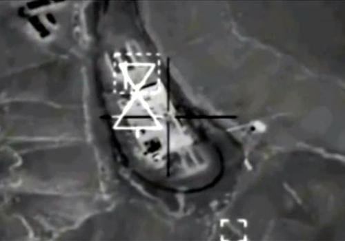 Luftangriff auf IS-Stellung in Syrien, über dts Nachrichtenagentur