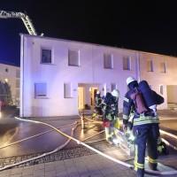 Brand Ulm Böfingen Silvester