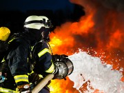 Feuerwehr Schaum