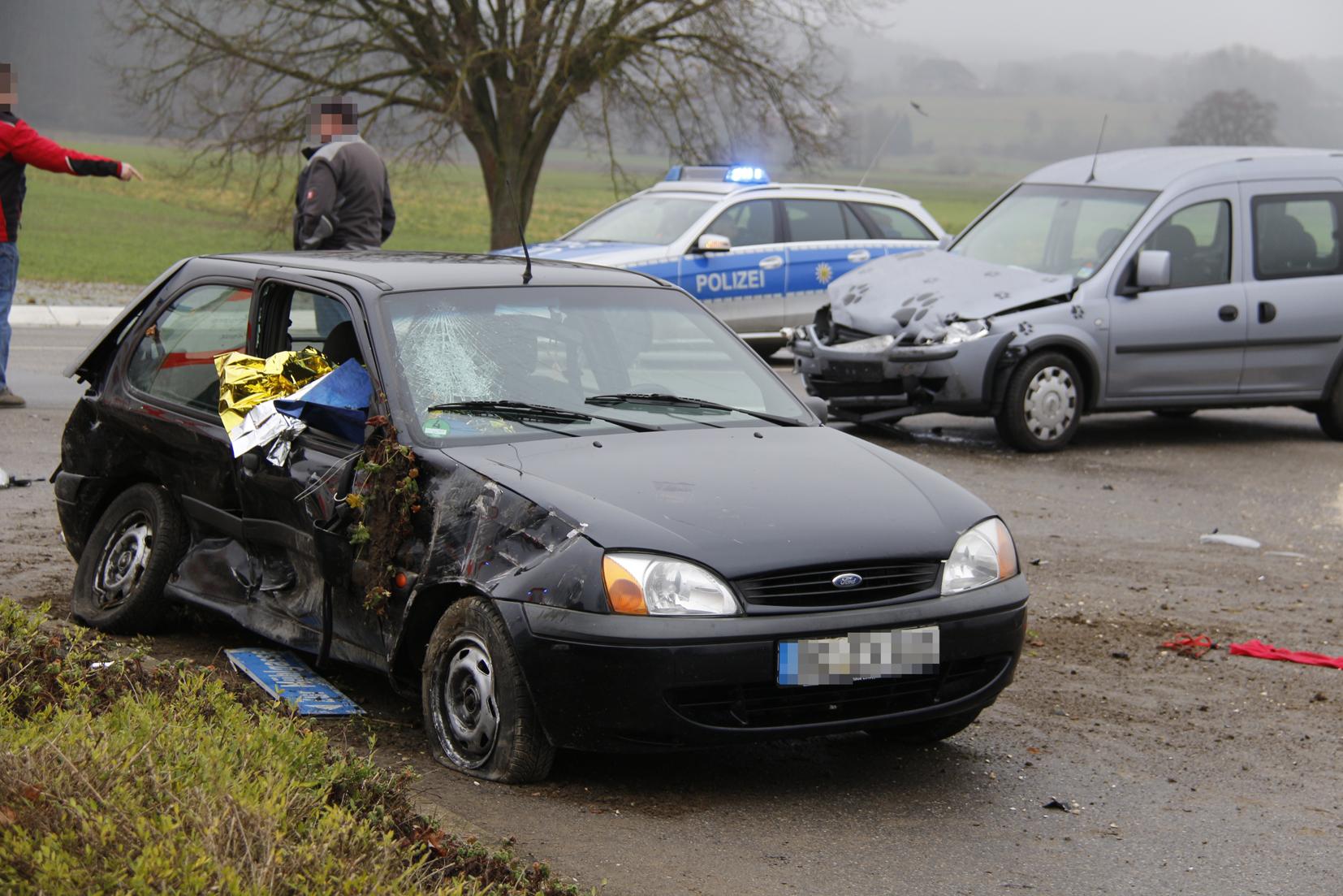 Balzheim Unfallverursacher Kommt Nach Einer