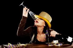 Alkohol Frau Betrunken