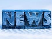 Das Wort News wurde mit Bleibuchstaben geschrieben. Symbolfoto für Newsletter, Zeitungen und Information