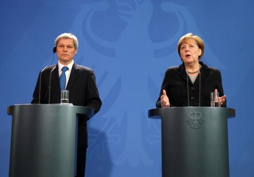 Dacian Cioloș und Angela Merkel am 07.01.2016, über dts Nachrichtenagentur