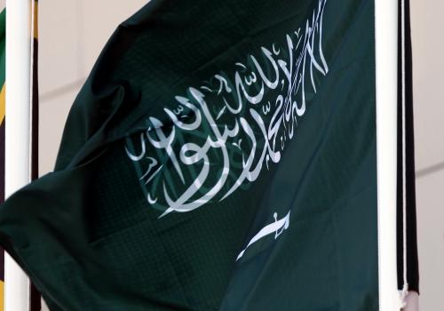 Fahne von Saudi-Arabien, über dts Nachrichtenagentur