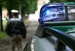 Polizei Blaulicht Polizist