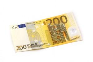 200 Euro Schein Geld