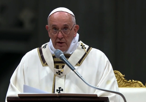 Papst Franziskus am 24.12.2015, über dts Nachrichtenagentur