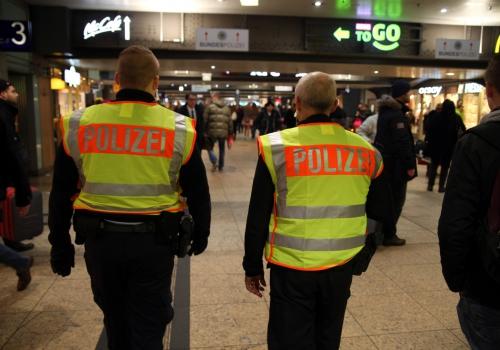 Bundespolizei im Bahnhof, über dts Nachrichtenagentur
