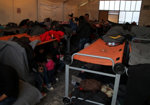 Flüchtlingslager, über dts Nachrichtenagentur