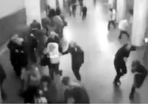 Überwachungskamera am Flughafen Brüssel zeigt Moment nach Explosion am 22.03.2016, über dts Nachrichtenagentur