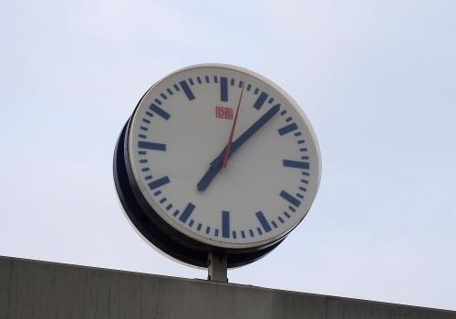 Bahnhofsuhr, über dts Nachrichtenagentur