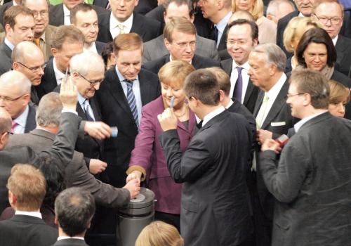 Bundestag entscheidet über Euro-Rettungsschirm, über dts Nachrichtenagentur