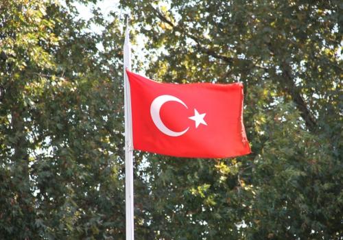 Türkische Flagge, über dts Nachrichtenagentur
