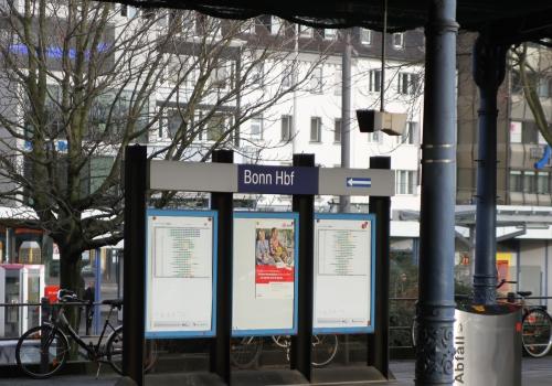 Bonner Hauptbahnhof, über dts Nachrichtenagentur