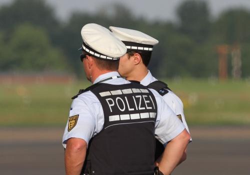 Polizei-Beamte, über dts Nachrichtenagentur