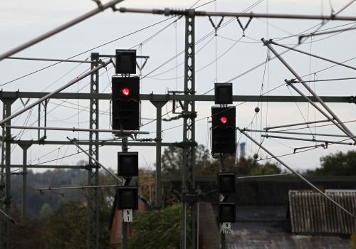 Signalleuchten der Deutschen Bahn, über dts Nachrichtenagentur
