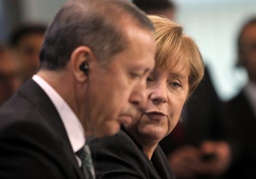 Recep Tayyip Erdogan und Angela Merkel am 04.02.2014, über dts Nachrichtenagentur