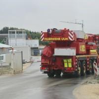 Dornstadt VU Tunnelbaustelle