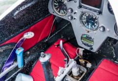 Cockpit Segelflugzeug