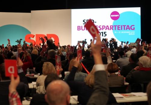 SPD-Bundesparteitag 2015, über dts Nachrichtenagentur