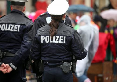 Polizei im Karneval, über dts Nachrichtenagentur