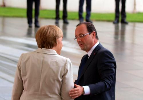 François Hollande und Angela Merkel, über dts Nachrichtenagentur