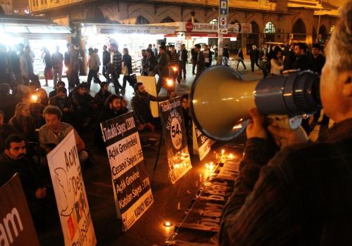 Kurdische Demonstranten in Istanbul, über dts Nachrichtenagentur