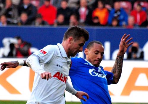FC Augsburg-Schalke, über dts Nachrichtenagentur