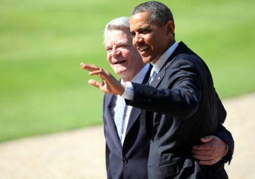 Barack Obama und Joachim Gauck, über dts Nachrichtenagentur