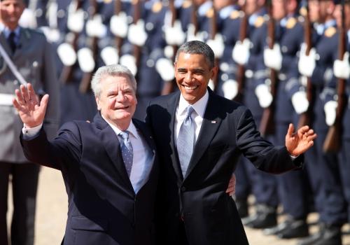 Barack Obama und Joachim Gauck am 19.06.2013, über dts Nachrichtenagentur