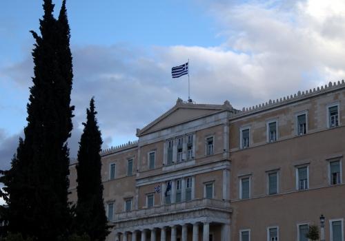 Griechisches Parlament, über dts Nachrichtenagentur