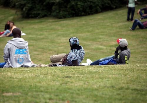 Menschen im Görlitzer Park, über dts Nachrichtenagentur